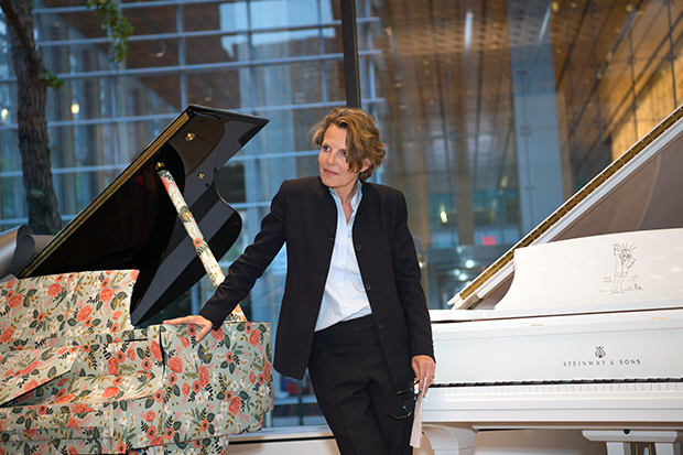 Annabelle Selldorf at Steinway Hall, New York, for her book launch, May 2016