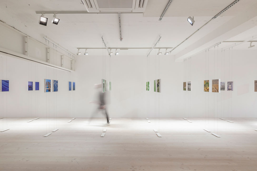 Installation view of John Pawson's Spectrum exhibition. Photo by Max Gleeson