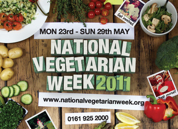 The National Vegetarian Society have lots of tips on eating veggie