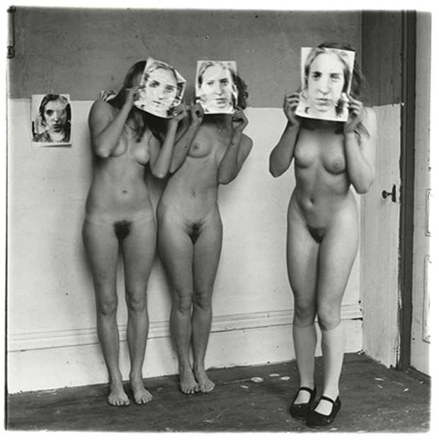 About Being my Model, Providence, Rhode Island, 1976, by Francesca Woodman. Copyright George and Betty Woodman. From On Being an Ange