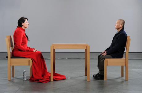 Marina Abramovic, The Artist is Present (2010)