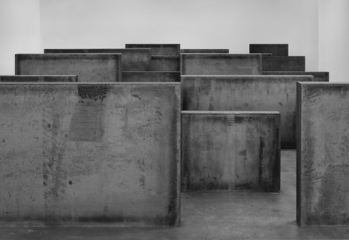 Intervals (2013) by Richard Serra
