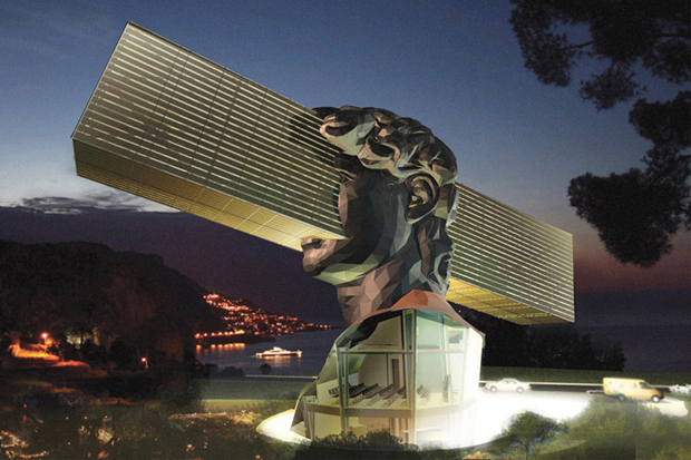 When art and architecture go head to head