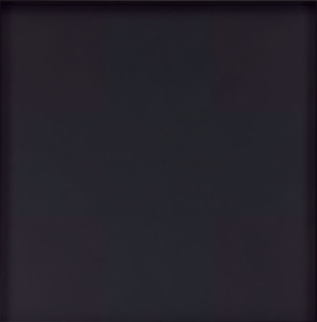 Ad Reinhardt, Abstract Painting, 1963, oil on canvas. As reproduced in Chromaphilia