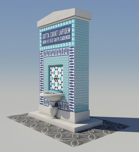 ADAM Architecture's water kiosk
