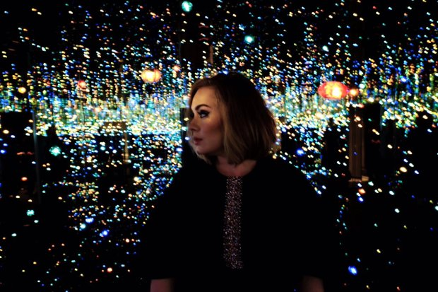 Still wondering about Adele's Brits backdrop?