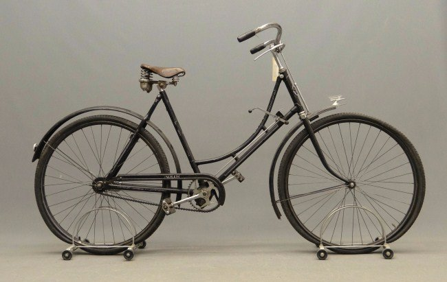 An early 20th century Adler bicycle