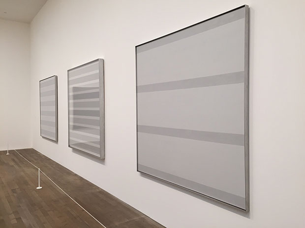 Agnes Martin at Tate Modern installation shot