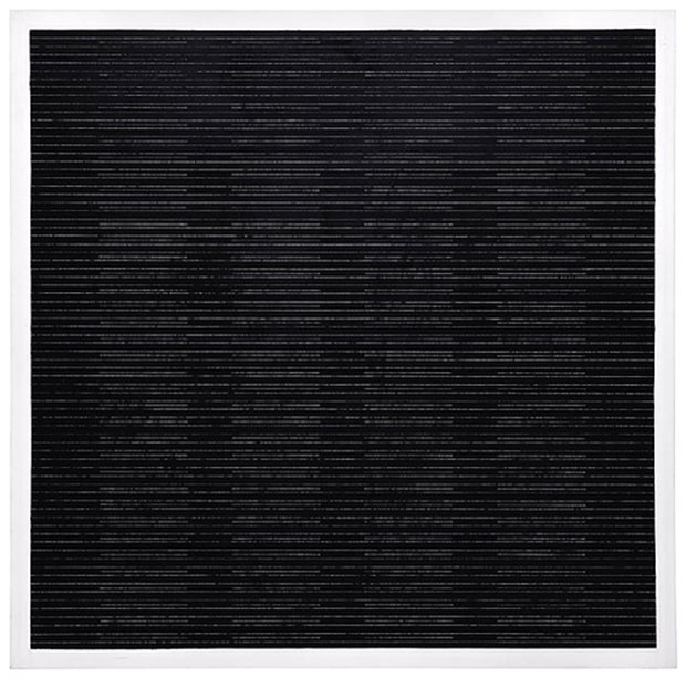 The Sea (2003) - Agnes Martin installation shot from the Tate Modern show