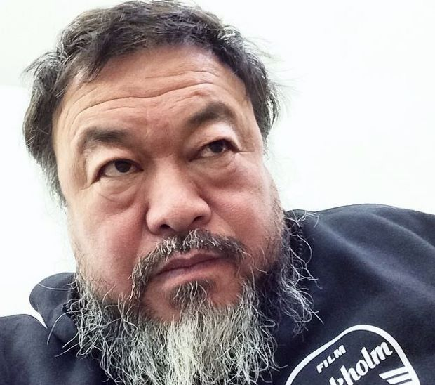 Ai Weiwei, 2014. From his Instagram feed.