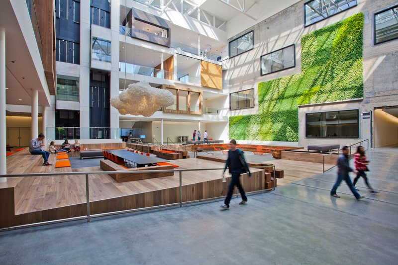 Airbnb's new offices, by Gensler