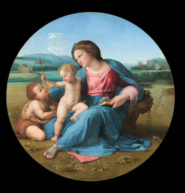 The Alba Madonna (1510) by Raphael