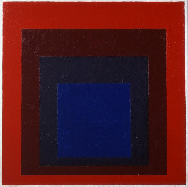 Silent Hall Homage to The Square (1954) by Josef Albers