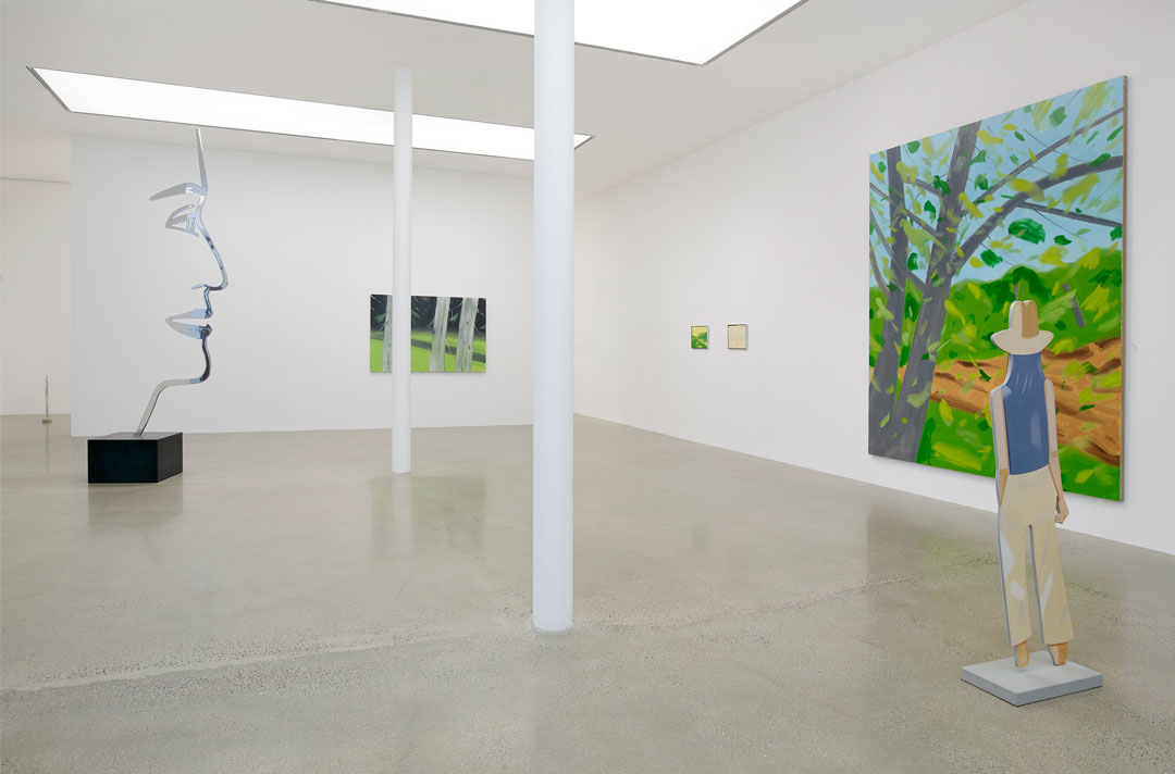 Alex Katz installation courtesy Timothy Taylor