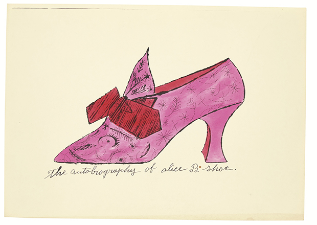 Warhol's Shoes go for twice the price at Sotheby's