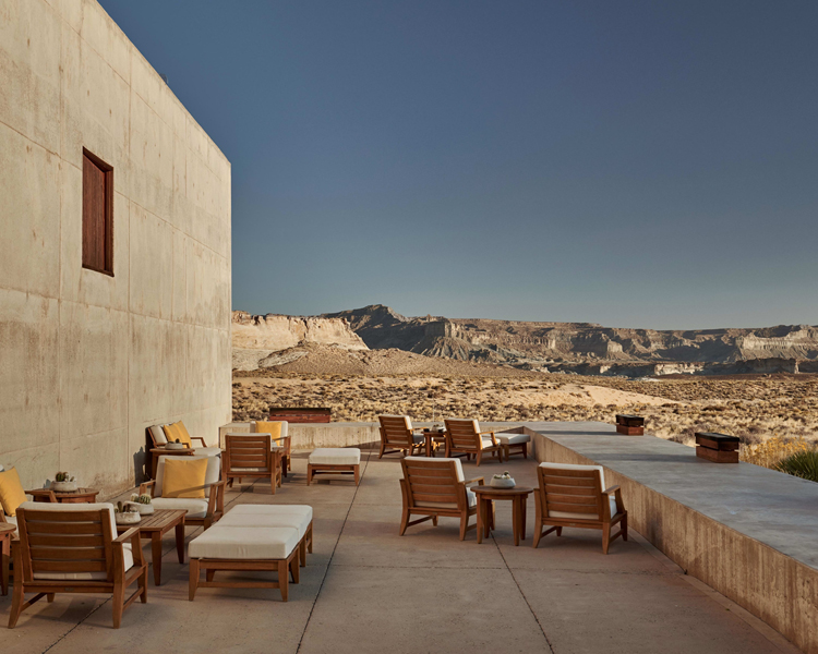 Managiri, Canyon Point, Utah, USA, as featured in Where Architects Sleep.All images courtesy of hotels