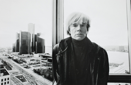 Andy Warhol in Detroit, 1985