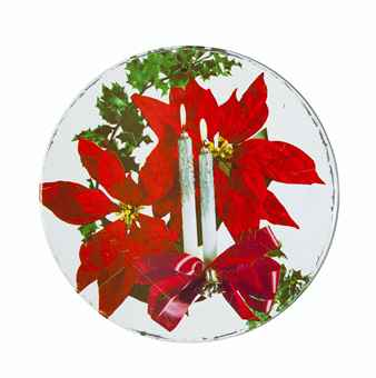 Poinsettia Cookie Tin (1982) by Andy Warhol
