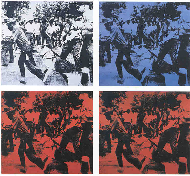 Race Riot, 1964 - Andy Warhol