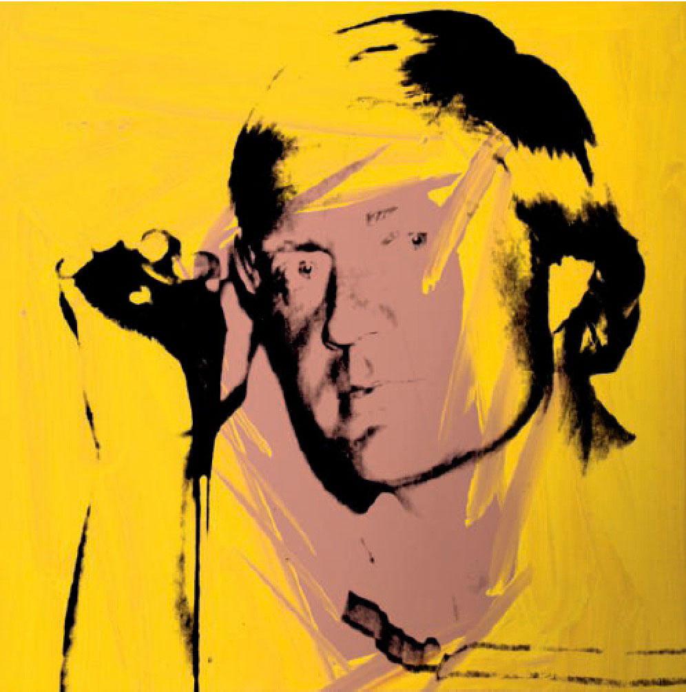 Jack Nicklaus - Andy Warhol - Collection Richard L. Weisman © The Andy Warhol Foundation for the Visual Arts, Inc., NY Photo by Spike Mafford