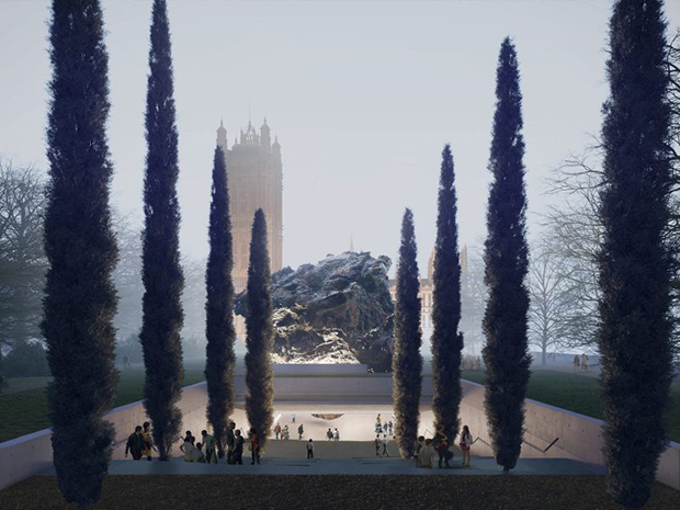 Anish Kapoor and Zaha Hadid Architects' submission for the UK Holocaust Memorial