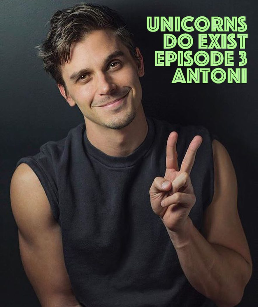 Antoni, as he appears on the image for Putnam & Putnam's latest podcast episode