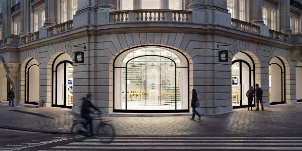 The Apple Store, Amsterdam. Courtesy of Apple