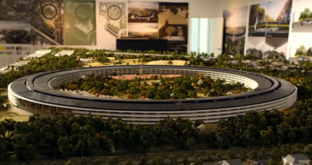 Apple's new headquarters by Foster + Parters