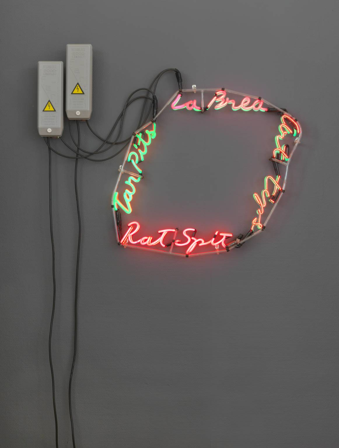 La Brea/Art Tips/Rat Spit/Tar Pits (1972) by Bruce Nauman