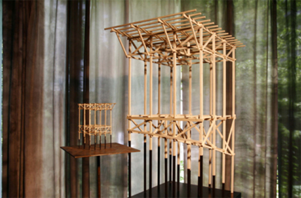 Peter Zumthor - exclusive look at architecture models
