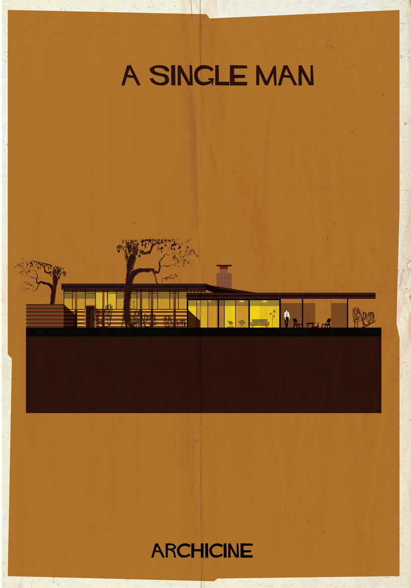 Federico Babina's poster for A Single Man