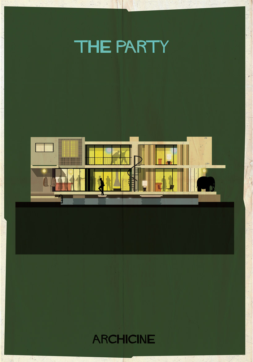 Federico Babina's poser for The Party