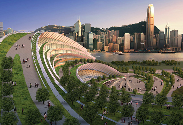 West Kowloon Terminus - Aedas