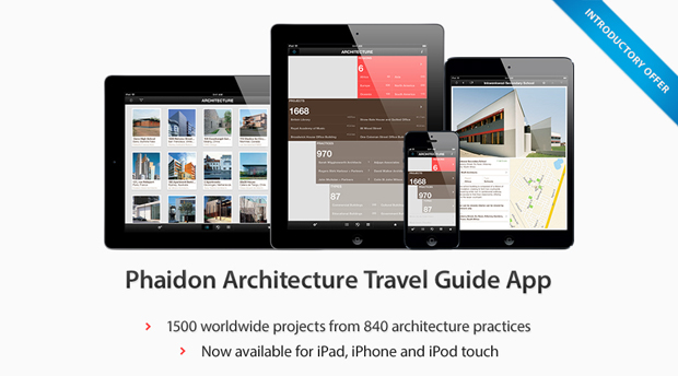 Phaidon's Architecture Travel Guide gathers together 1,500 of the best new buildings
