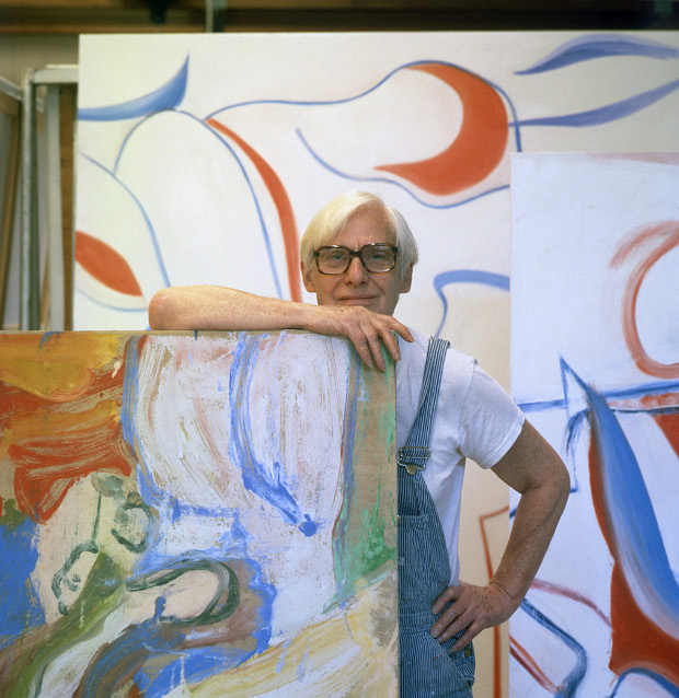 Willem de Kooning in his studio, Springs, Long Island, late October 1983. © 2013 Arnold Newman Artwork © 2013 The Willem de Kooning Foundation/Artists Rights Society (ARS), New York. Arnold Newman/Getty Images