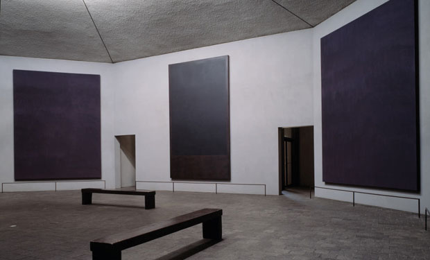 Rothko Chapel Murals from Art & Place