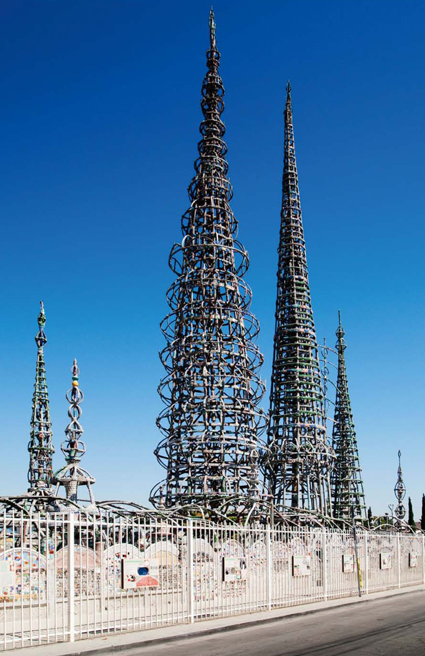 The Watts Towers, as featured in Art & Place