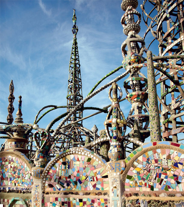 The Watts Towers, Los Angeles - Simon Rodia