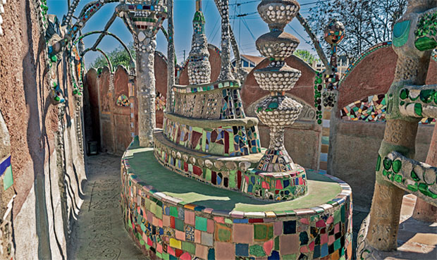 outside home design with Why The Watts Towers Were Nearly Knocked Down on Why The Watts Towers Were Nearly Knocked Down as well 50 Bottle Trellis Wine Rack in addition Living in addition Ferrari Portofino  es Home For additionally Glass Walled Swimming Pools.