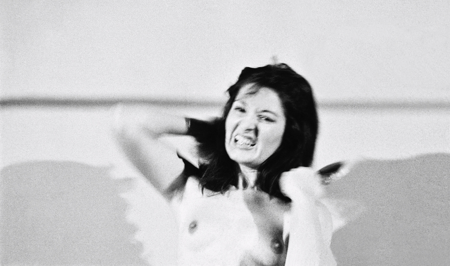 Marina Abramović, Art Must be Beautiful, Artist Must be Beautiful (1975)