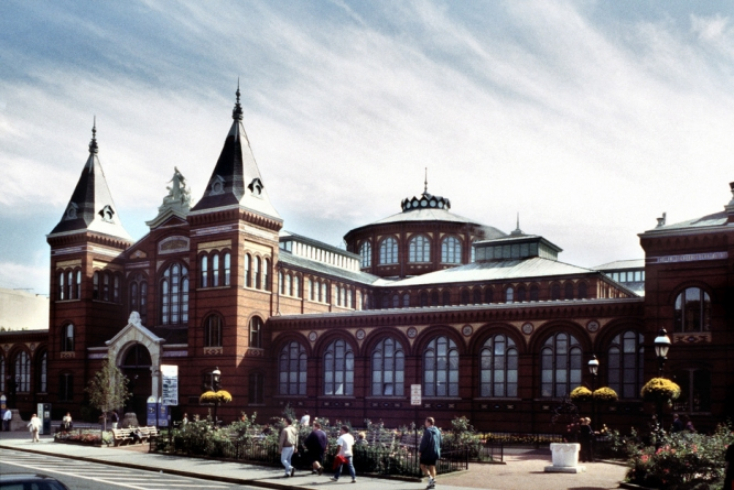 The Smithsonian Arts and Industries Building in Washington, D.C.
