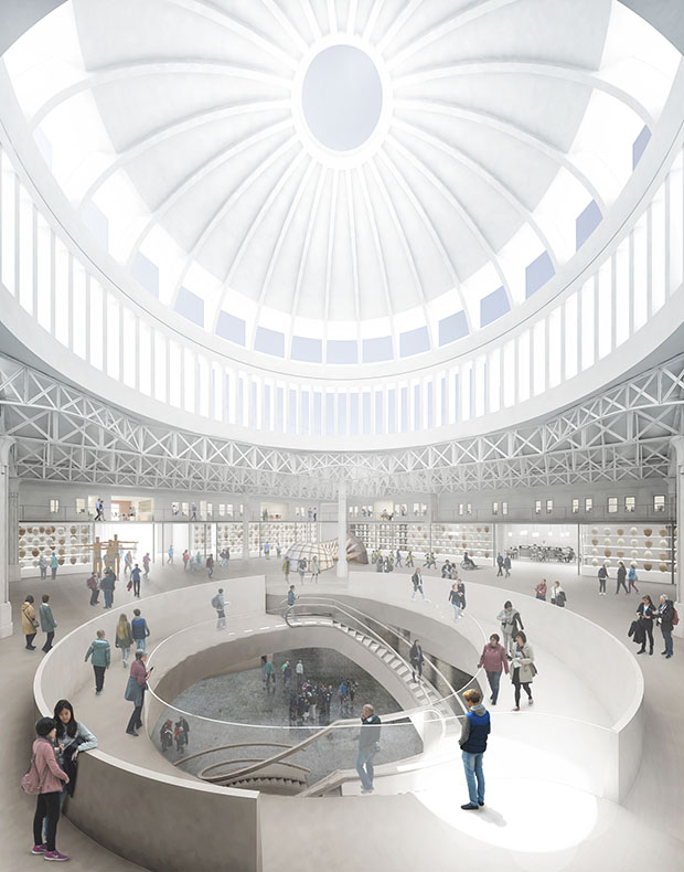 Renderings of the new Museum of London by Stanton Williams and Asif Khan. Image courtesy of Stanton Williams and Asif Khan
