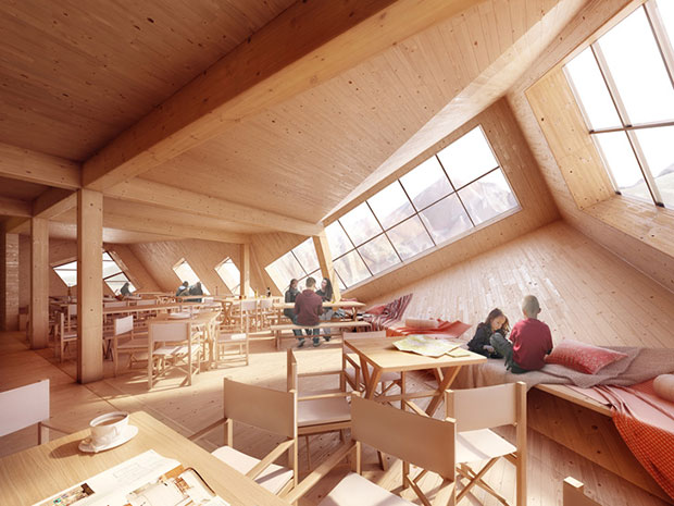 Mountain Hostel - Atelier 8000