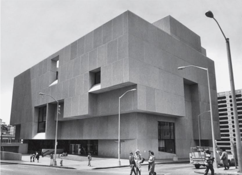 Atlanta Central Library, Atlanta, USA, 1980, by Marcel Breuer & Associates