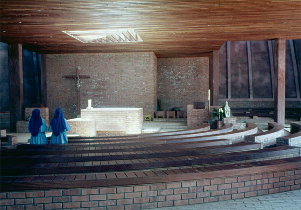Mityana Pilgrims' Centre Shrine - Justus Dahinden