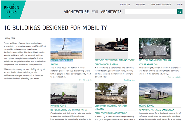 Phaidon Atlas Focus: 10 Buildings Designed for Mobility
