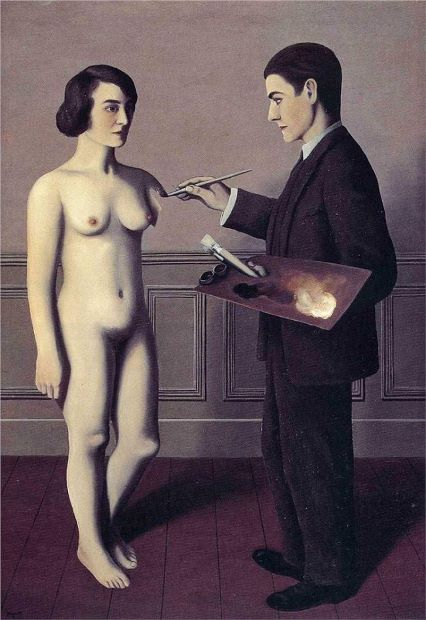 Attempting The Impossible (1928) by René Magritte