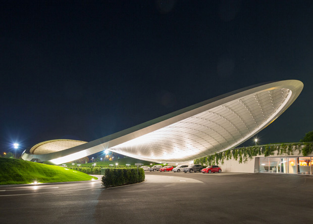 VW unveils Pringle shaped carport