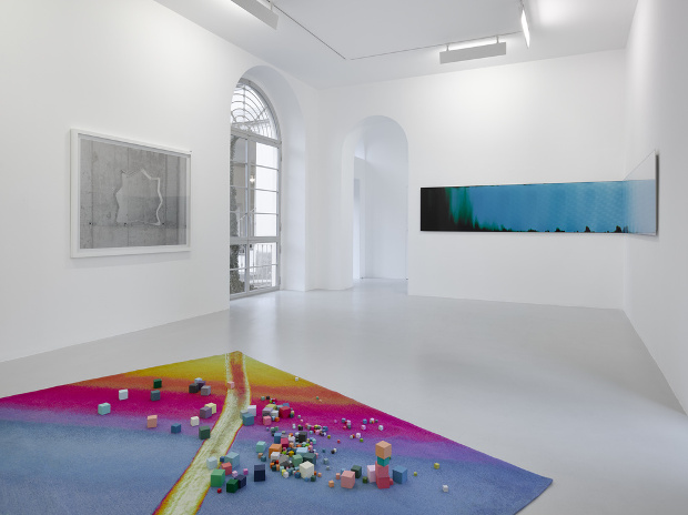 Broomberg & Chanarin Trace Evidence, Installation view. Image courtesy of Lisson Gallery, Milan