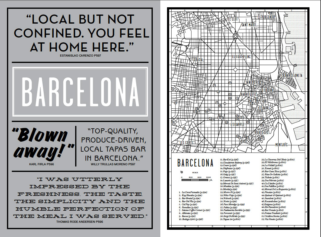 The Barcelona introduction from our new book Where Chefs Eat